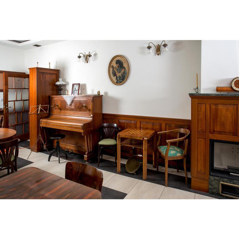 Interiér Café Jirásek